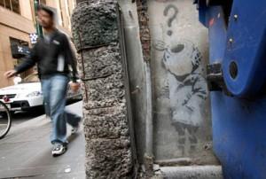The Resurrection Of Banksy's Little Diver