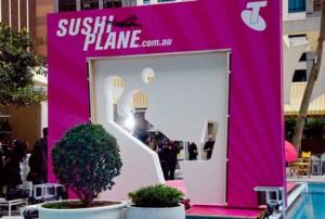Telstra's Sushi Plane – get on it!