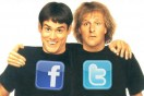 "Parents view Facebook and Twitter as ""Dumb and Dumber"" for kids"