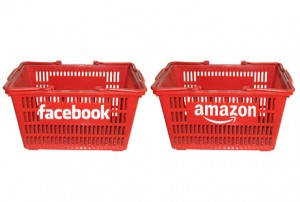 Facebook and Amazon pair up for social shopping