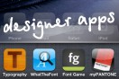 iPhone apps for designers