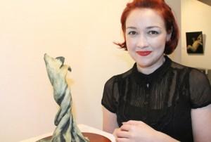 Elzunia Rejmer and the Samhain exhibition