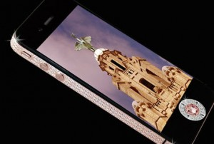 $8 million diamond encrusted iPhone 4