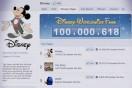 Disney reaches 100 million Facebook fans