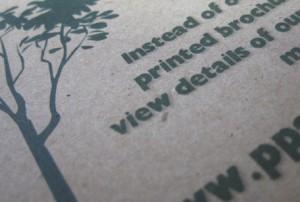 Green printing tips