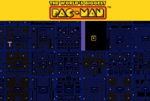 The biggest user-generated PAC-MAN