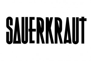 Support People Collective's Sauerkraut Typeface project