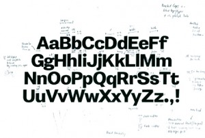 The typeface – Jones
