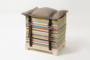 A magazine chair