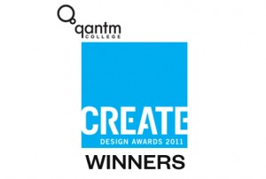 Qantm Create Design Awards 2011 winners