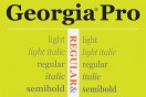 Georgia and Verdana re-released for web