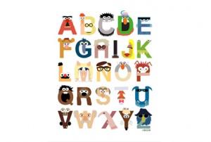 Muppets Alphabet T-shirt
