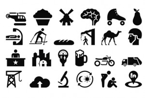the noun project The noun project - big database of icons/symbols (public domain, cc, etc) read the opinion of 11 influencers discover 3 alternatives like the noun project for mac.