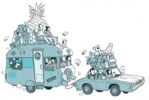 Caravan of Comics tour