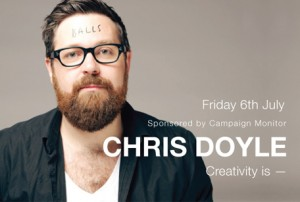 CreativeMornings Sydney – Chris Doyle