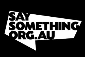 Say Something poster winner