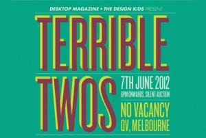 Terrible Twos design auction is live!