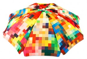 Basil Bangs 'Le Pixel' Umbrella