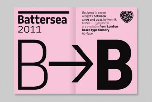 The Typeface: Battersea