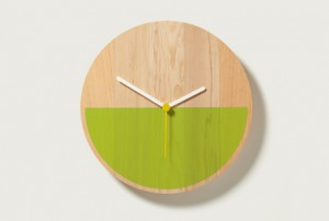 Colour Block Clocks