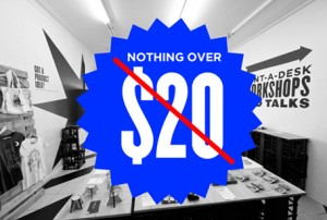 Oxford St Design Store removes $20 limit