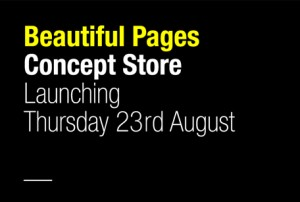 Beautiful Pages Concept Store launch