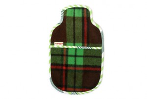 Vintage Blanket hot water bottle cover