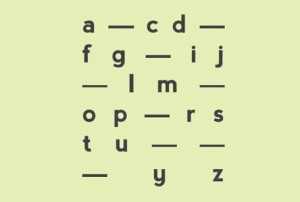 Typeface project: Imaginary Alphabets