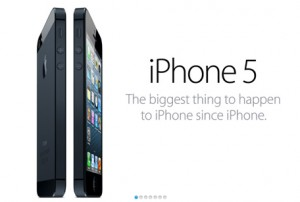 iPhone 5 has arrived