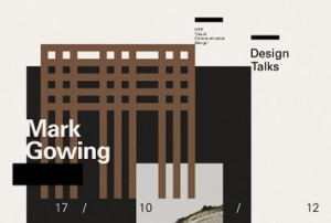 UTS Design Talks #4: Mark Gowing