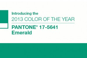 Pantone Colour of the Year – 2013