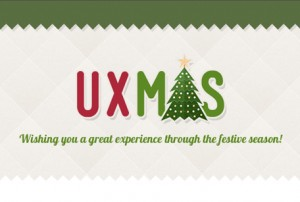 UXmas: Advent calendar for UX designers