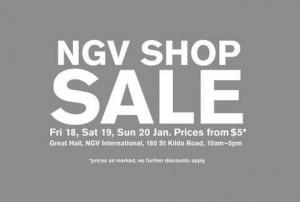 NGV Shop Sale