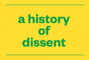 A history of dissent – part one