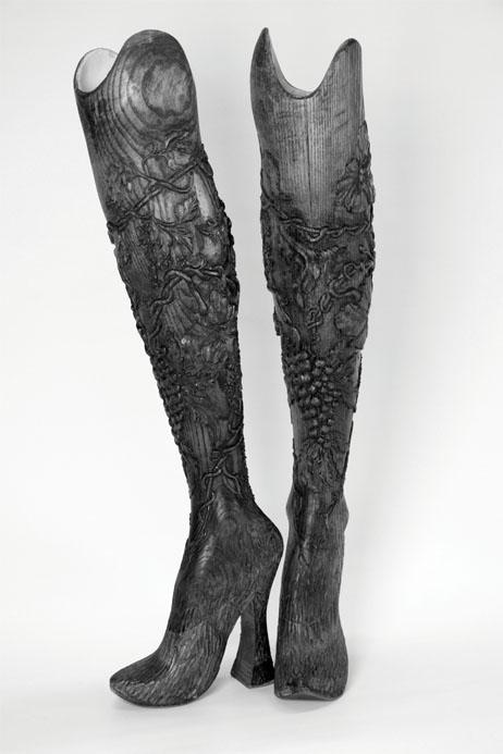 (sm) Bespoke wooden legs