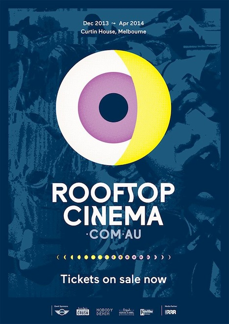 SouthSouthWest's 2013/14 Rooftop Cinema identity