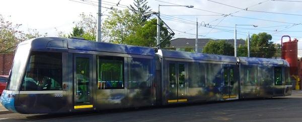 Tram 3008 by Bindi Cole