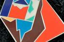 New Mythologies music + badge