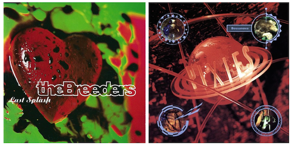 The Breeders and The Pixies album covers by Vaughan Oliver