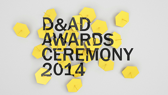 Still from campaign film, D&AD Awards Ceremony 2014
