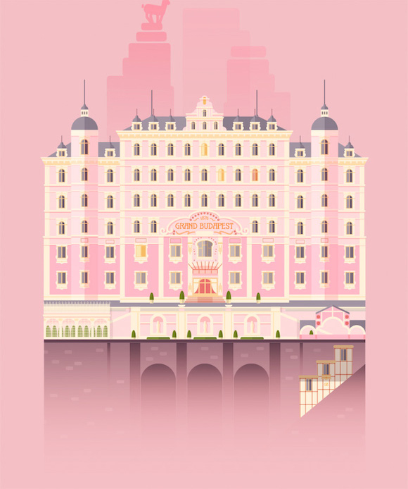 The Grand Budapest Hotel by LORENA .G