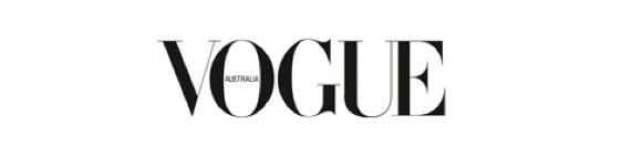Vogue Australia masthead