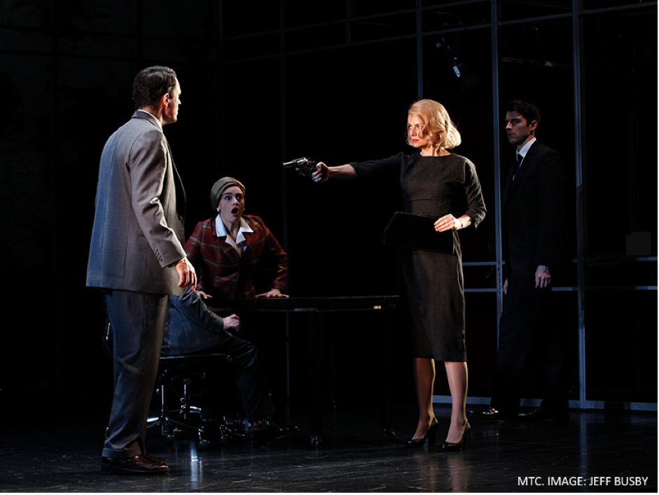 North by Northwest, presented by Melbourne Theatre Company in association with Kay + McLean Productions and Warner Bros. Theatre Ventures