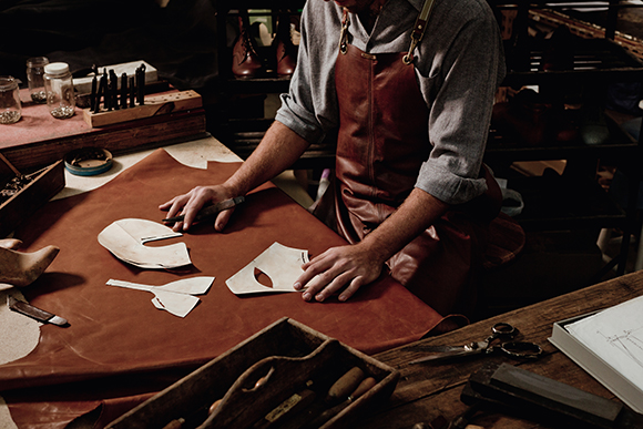 Wootten handmade leather