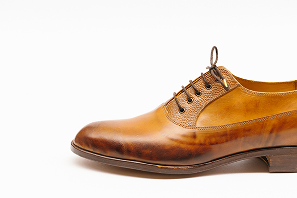 Wootten leather shoes