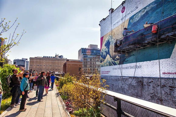 Colossal for MET on the Highline in NY