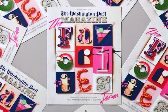 Snask's cover for The Washington Post's 'Favorites Issue'