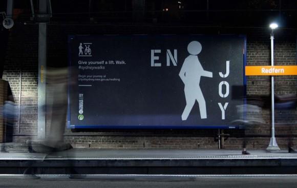Walk / Ride campaign. Image courtesy of designbytoko.com