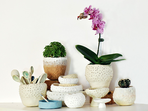 Orchid and Pots KW