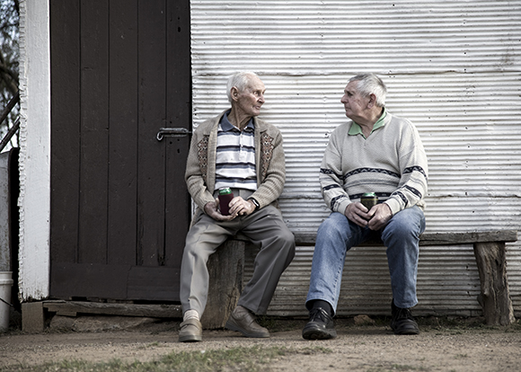 Elderly Brothers/Credit: kerriekerr/iStock by Getty Images